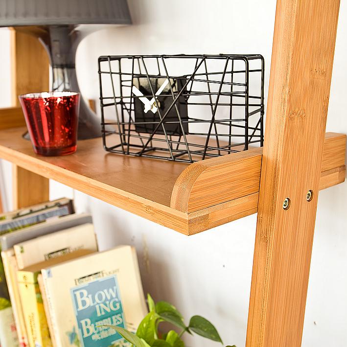 sobuy libreria mensola scala scaffale da bagno bamb